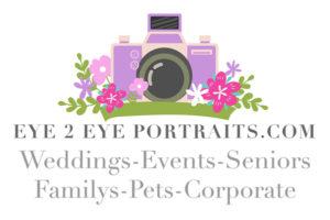 eye 2 eye portraits logo